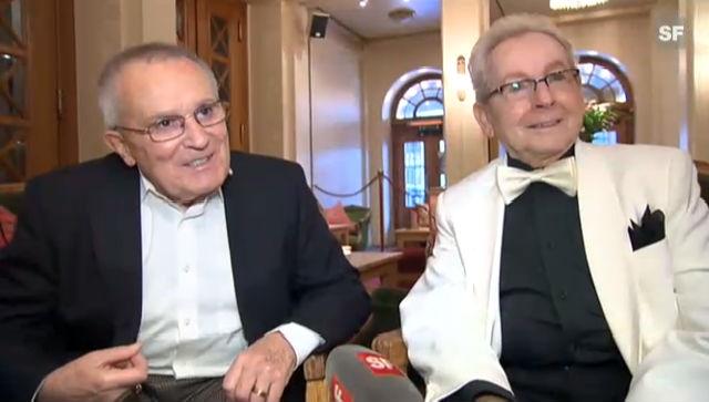 Love: Ernst Ostertag und Röbi Rapp