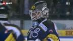 Video «Eishockey: Zug - Fribourg» abspielen