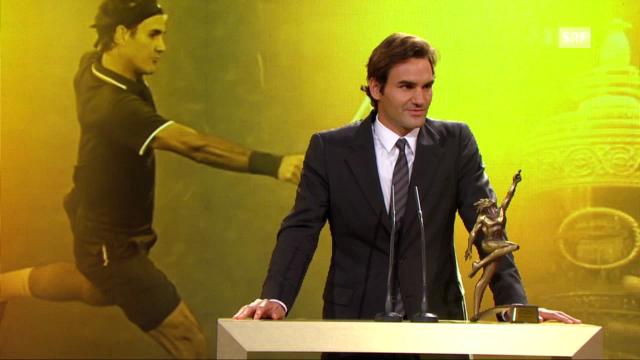 «Sports Awards»: Auszeichnung Roger Federer