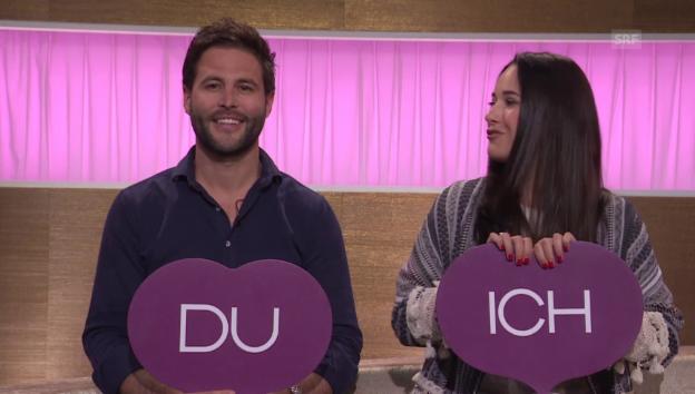 Video ««Ich oder Du» mit Sandro und Iva Cavegn» abspielen