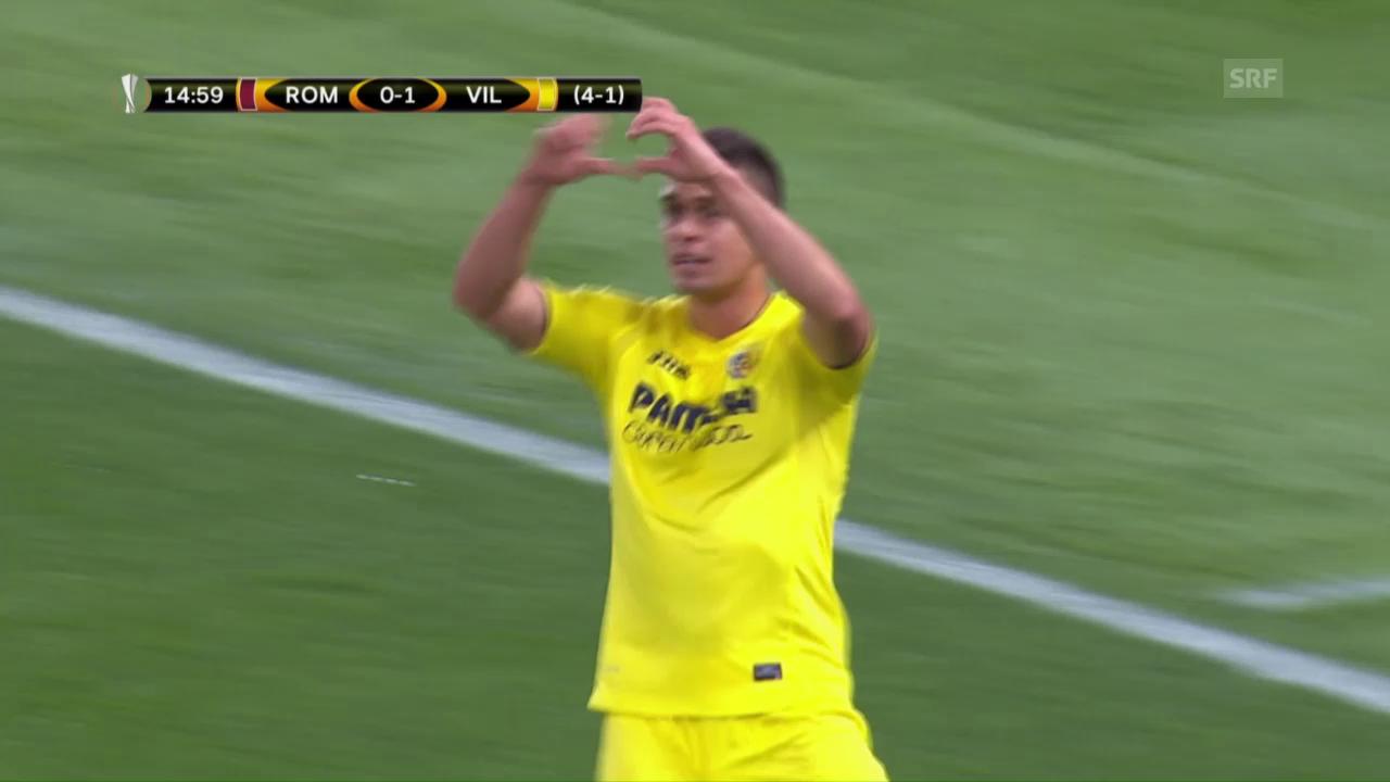 Roma trotz Niederlage gegen Villarreal weiter