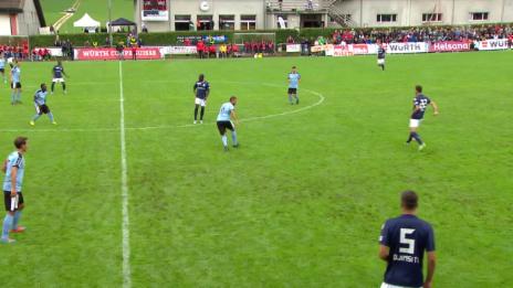 Video «Fussball: Schweizer Cup, 1. Runde: FCTT - Zürich, Alle Tore» abspielen
