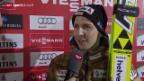 Video «Skispringen: Weltcup in Kuusamo, Interview Ammann» abspielen