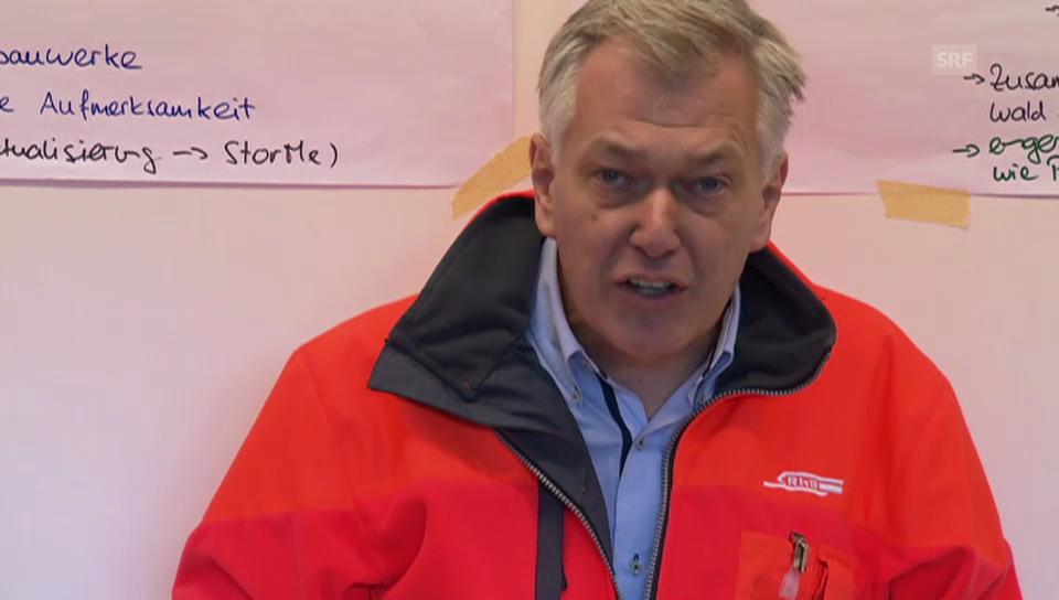 Hans Amacker, Direktor der RhB, über die Verletzten