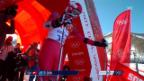 Video «Ski Alpin: Super-G Sotschi, Fahrt Dominique Gisin (sotschi direkt, 15.02.2014)» abspielen
