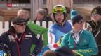 Video «Ski: Carlo Janka im Training von Garmisch» abspielen