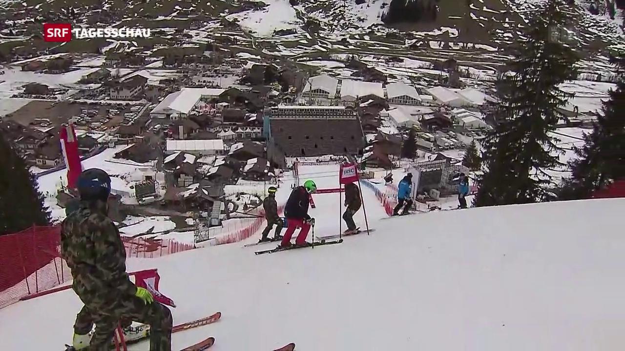 Skiweltcup-Rennen sollen stattfinden