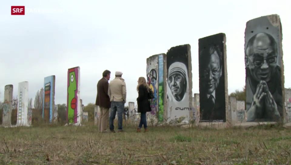 Was von der Berliner Mauer geblieben ist
