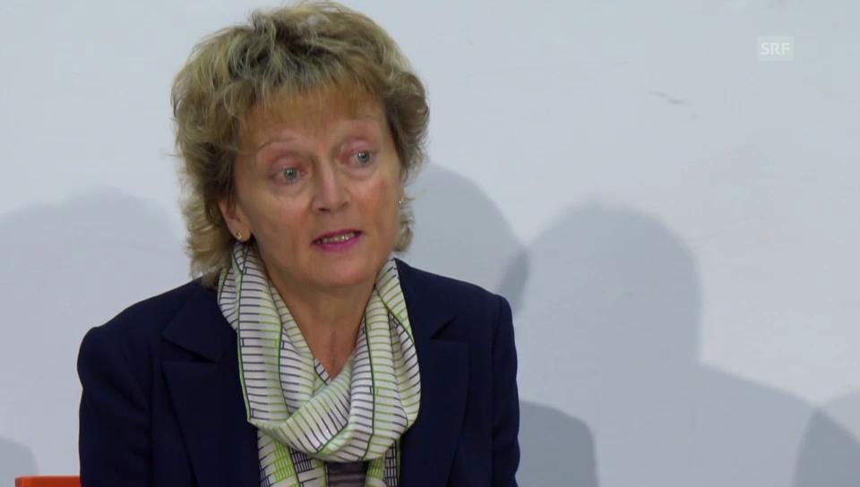 Bundesrätin Widmer-Schlumpf gegen Abschaffung der Pauschalsteuer
