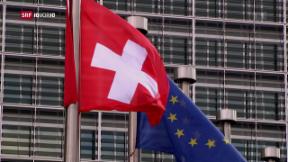 Video «FOKUS: Druck der EU kommt in der Schweiz nicht gut an» abspielen