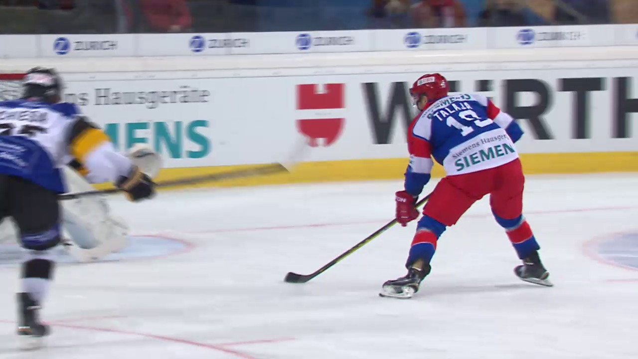 Eishockey: Spengler Cup 2015, Jokerit-Lugano, 3:2 Talaja