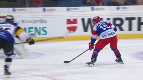 Video «Eishockey: Spengler Cup 2015, Jokerit-Lugano, 3:2 Talaja» abspielen