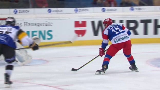 Video «Eishockey: Spengler Cup 2015, Jokerit-Lugano, 3:2 Talaja» abspielen
