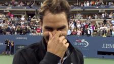 Video «Tennis: Federer im Platzinterview» abspielen