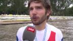 Video «Rudern: WM, Interview mit Michael Schmid» abspielen