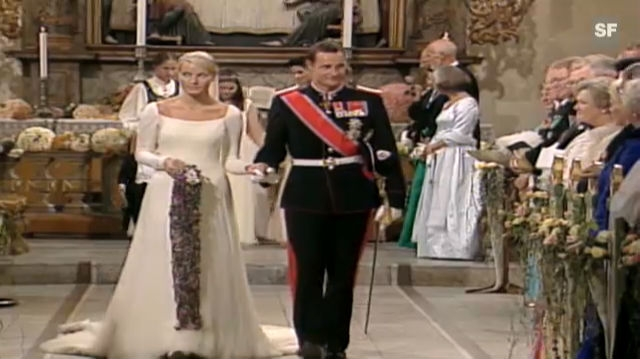 Prinz Haakon Und Prinzessin Mette Marit Hochzeit Tv Play Srf