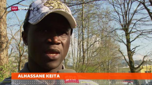 Video «Fussball: Keita wechselt zum FCSG» abspielen