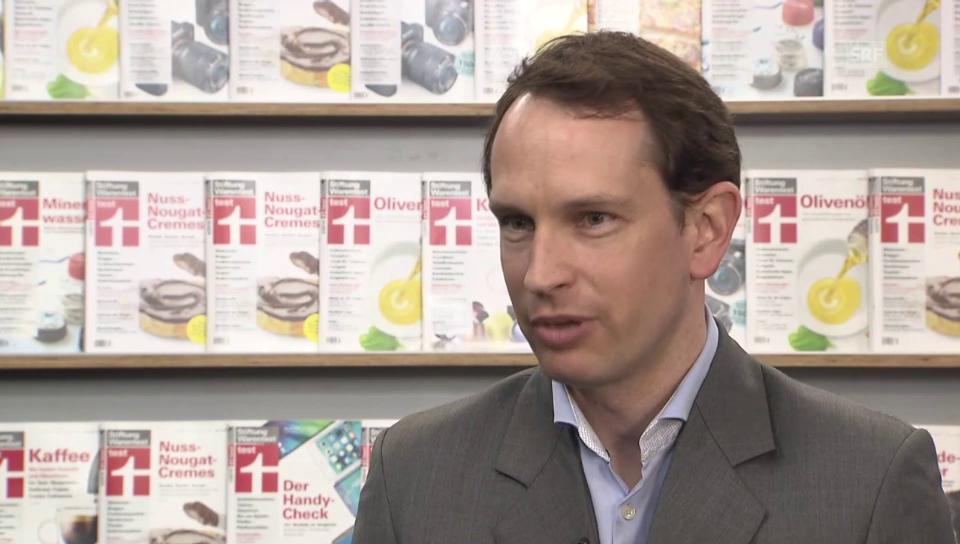 Stephan Scherfenberg von Stiftung Warentest zu Schadstoffen in Buggy