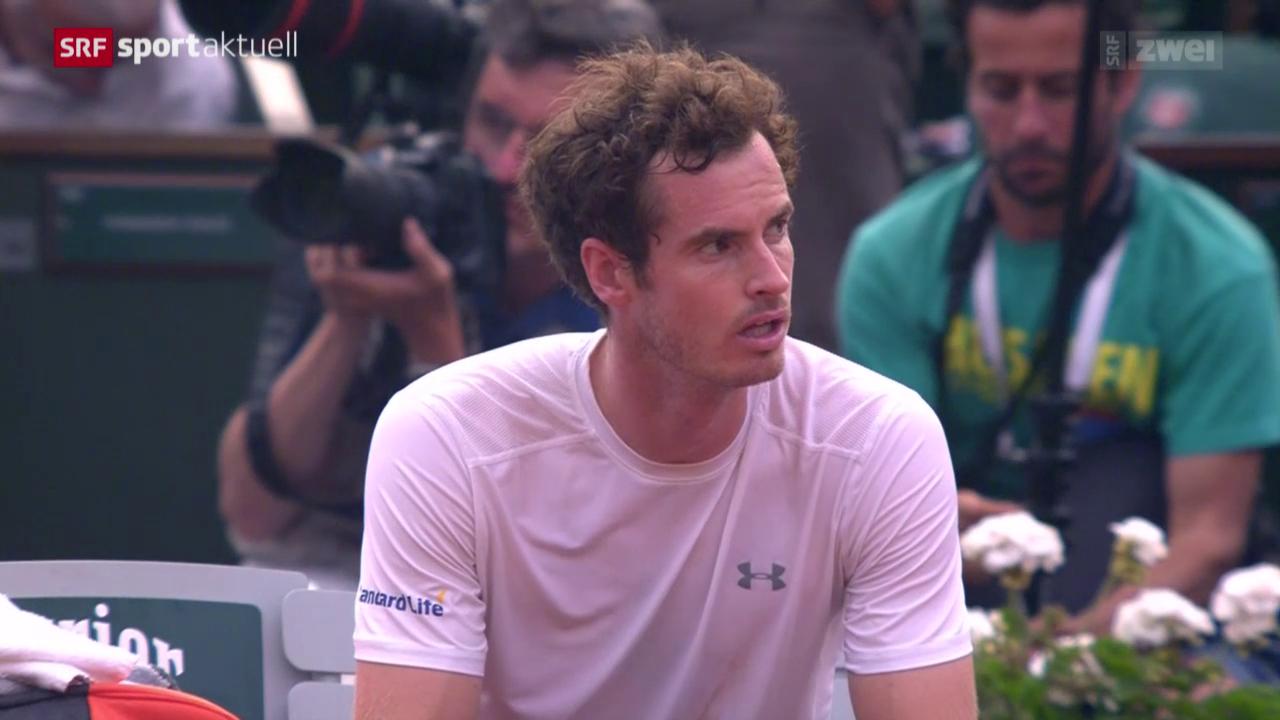 Tennis: French Open, Halbfinal Djokovic-Murray