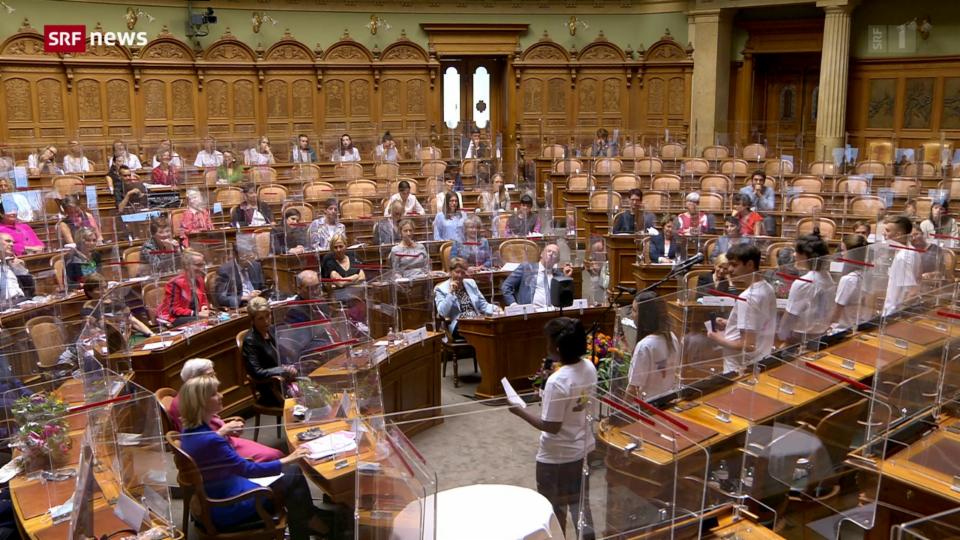 Die Schweiz feiert 50 Jahre Frauenstimmrecht