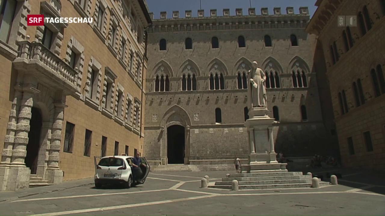 Italienische Grossbank in der Krise