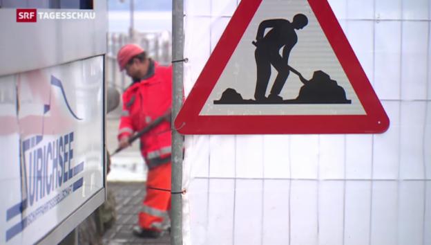 Video «Arbeitslosigkeit ist Hauptsorge der Schweizer» abspielen