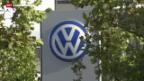 Video «VW räumt Unregelmässigkeiten ein» abspielen