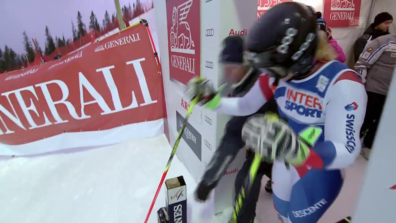 Ski: Are, 2. Lauf Simone Wild