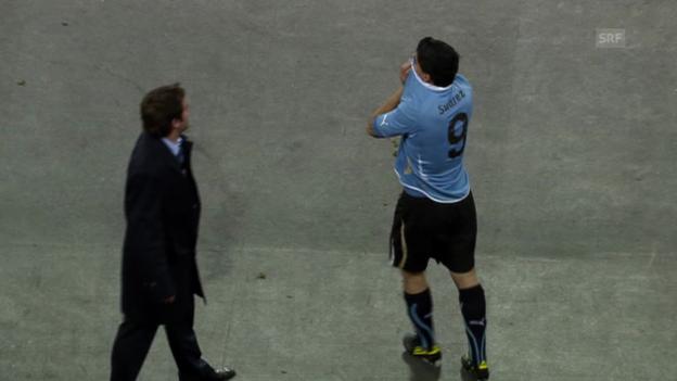 Video «Fussball: Die grössten WM-Momente von Luis Suarez» abspielen