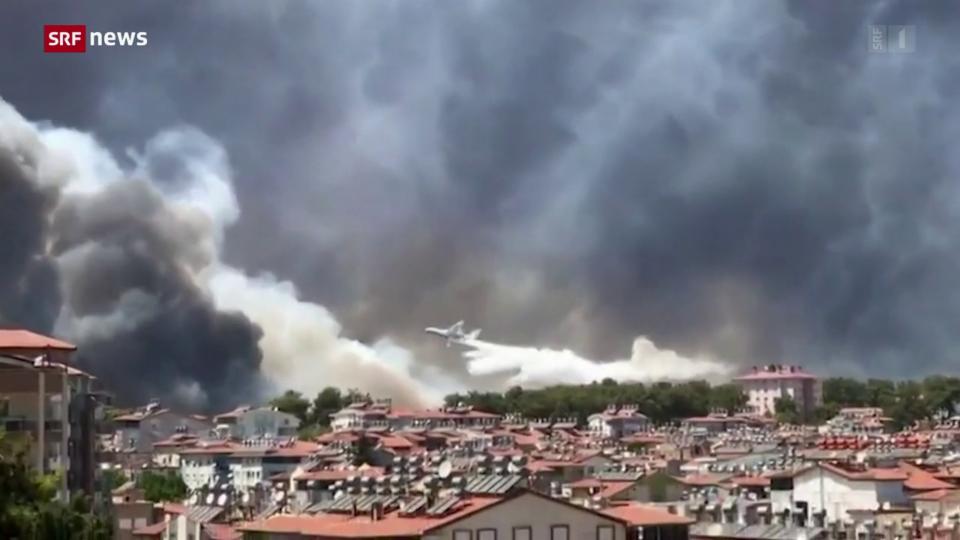 Tote nach Bränden in der Türkei