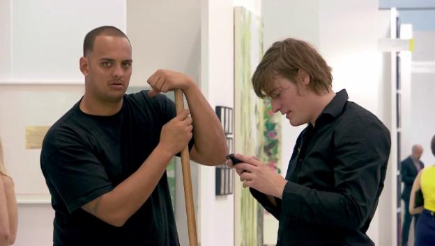 Video «Julian Charrière an der Art Basel Miami» abspielen