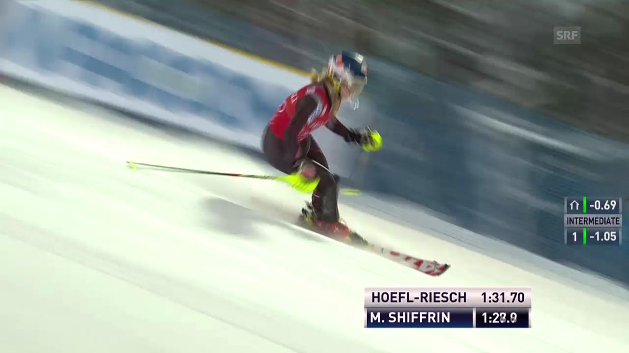 Mikaela Shiffrin holt sich den Sieg in Levi