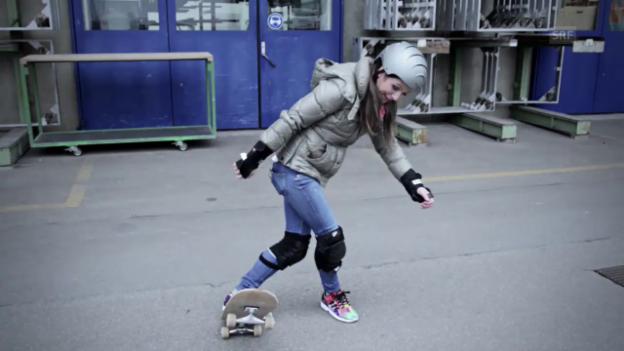 Video «Skateboarden - Viola wills wissen» abspielen