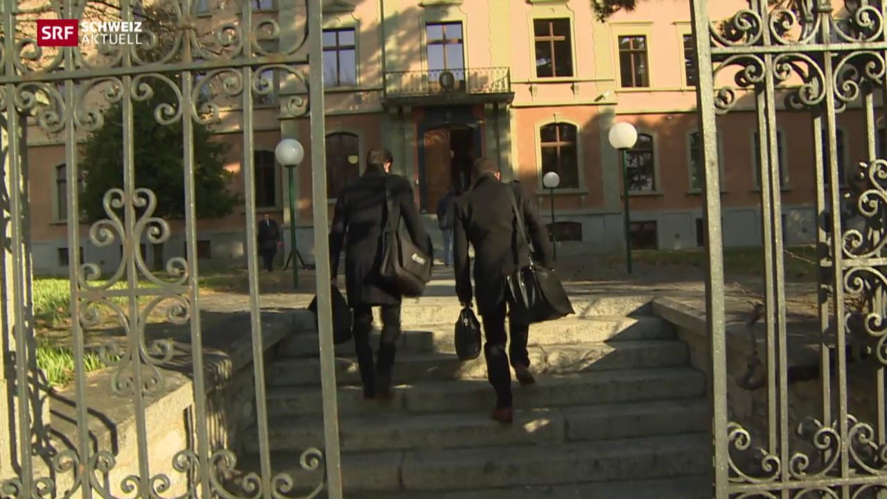 Walliser Ex-Polizist vor Gericht