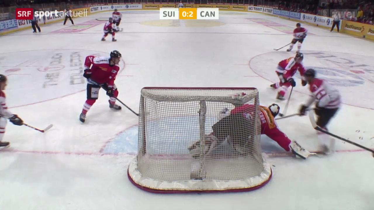 Eishockey: Testspiel Schweiz - Kanada