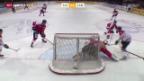 Video «Eishockey: Testspiel Schweiz - Kanada» abspielen