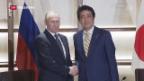 Video «Russlands Präsident Putin in Japan» abspielen