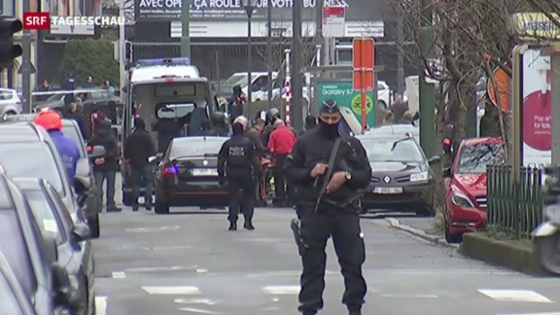 Video «Weitere Festnahmen in Brüssel» abspielen