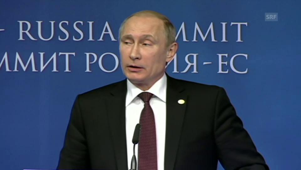 Ein Diplomat auf der Weltbühne – SRF Tagesschau, 28.1.2014