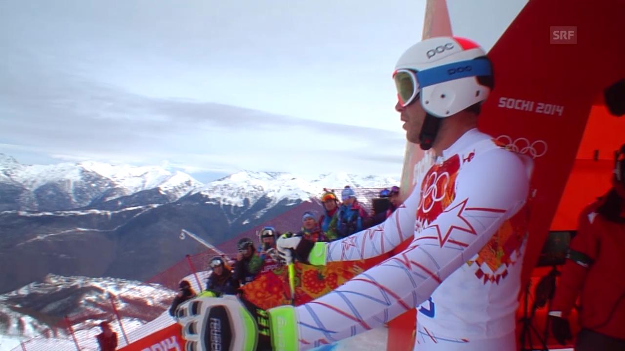 Sotschi: Ski, Abfahrt Männer, Fahrt von Miller