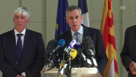 Video «Staatsanwalt in Nizza: «Attentäter war Polizei bekannt»» abspielen