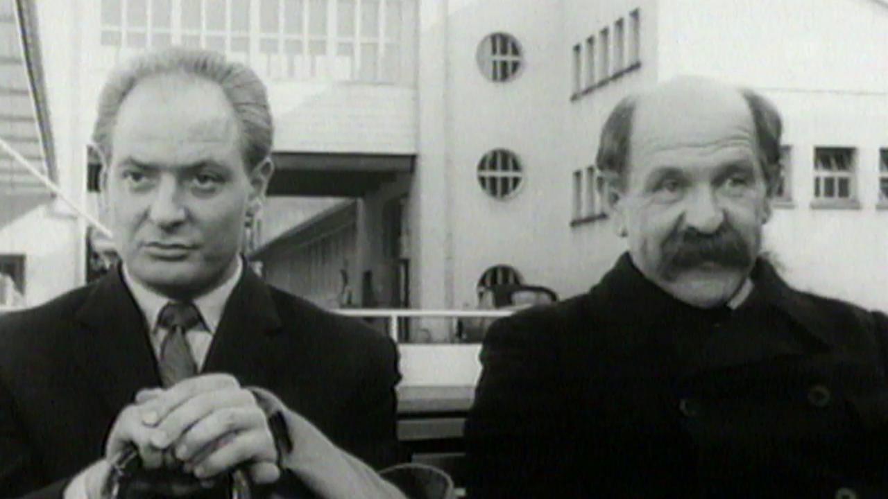 Der legendäre Alfred Rasser zur Arbeitszeit