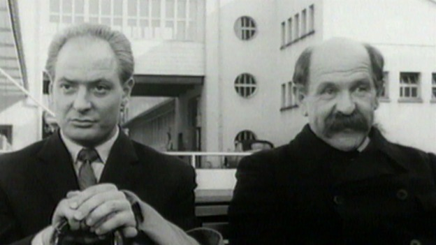 Video «Der legendäre Alfred Rasser zur Arbeitszeit» abspielen