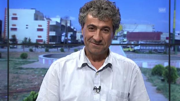Video «Taha Khalil in #SRFglobal vom 22.09.15» abspielen