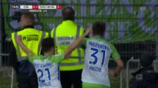 Link öffnet eine Lightbox. Video Wolfsburg siegt in Kiel und bleibt in der Bundesliga abspielen