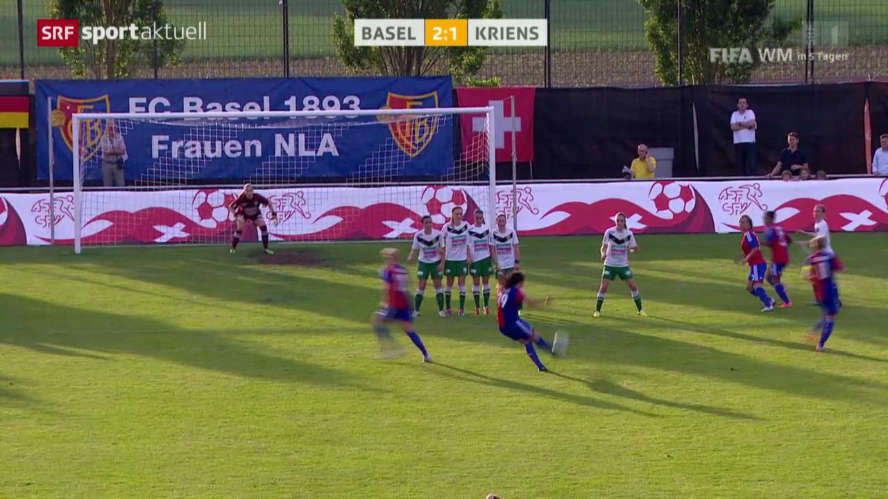 Fussball: Cupfinal Frauen, Kriens - Basel