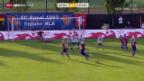 Video «Fussball: Cupfinal Frauen, Kriens - Basel» abspielen