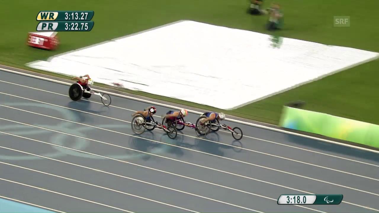 Das 1500-Meter-Rennen von Manuela Schär