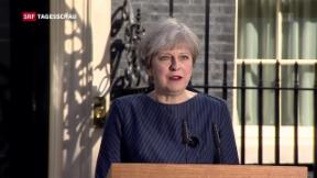Video «Theresa May ruft Neuwahlen aus» abspielen