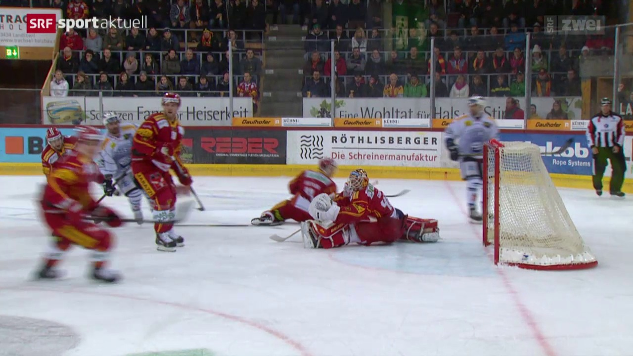 Eishockey: NLA, SCL Tigers - Ambri